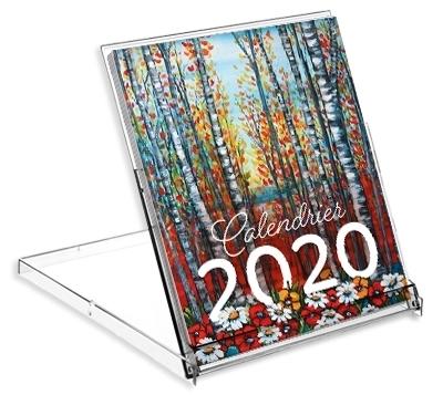 Picture of CALENDRIER CD 2020 ÉDITIONS DE VILLERS LISTE DE PRIX