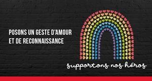 Campagne «Supportons nos héros»